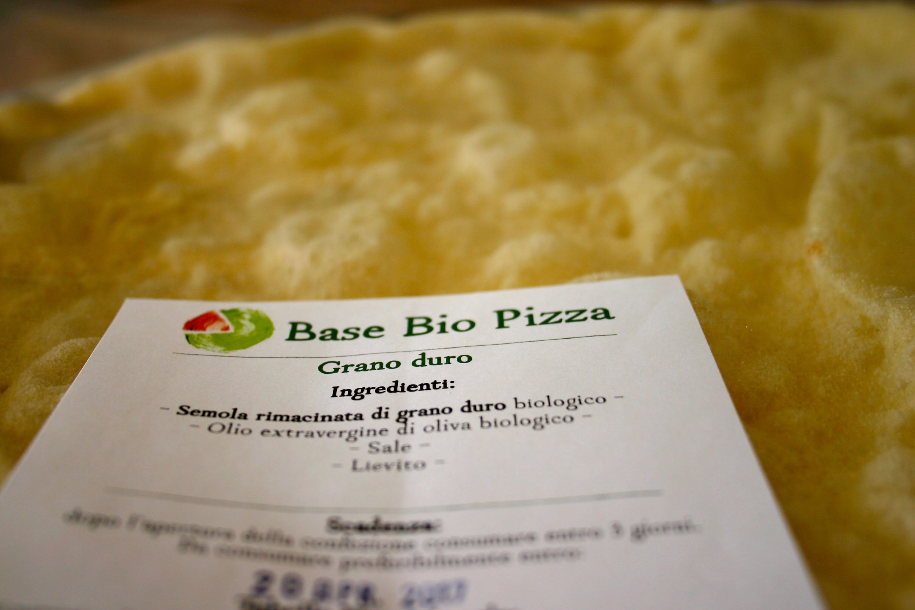 Base bio pizza
